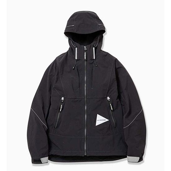 アンドワンダー ナイロンストレッチジャケット AW91-FT042 メンズ/男性用 ジャケット nylon strech jacket ※クリアランスSALE