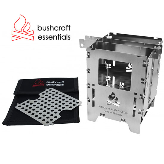 ブッシュクラフトエッセンシャル ブッシュボックス LFセット BCE-042 ストーブ Bushbox LF