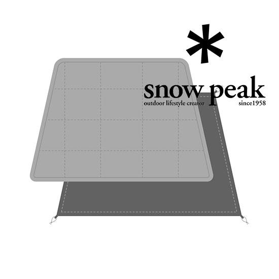 スノーピーク エルフィールド マットシートセット TP-880-1 マット MAT SHEET SET for ELFIELD 2019年新商品