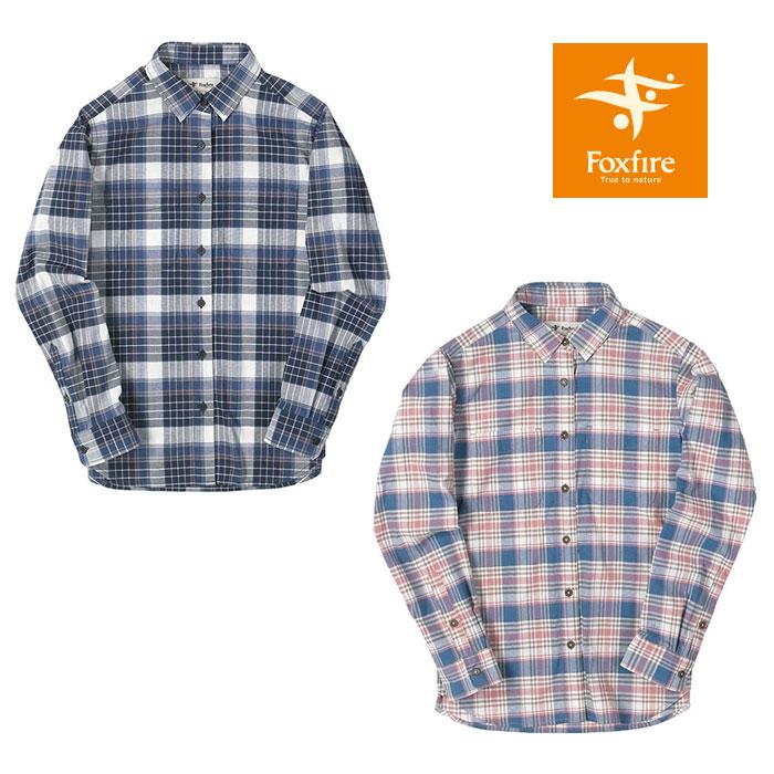 フォックスファイヤー Cシールドミックスチェックシャツ FXF8212925 レディース/女性用 シャツ C-SHIELD MIX Check Shirt 2019年春夏新作