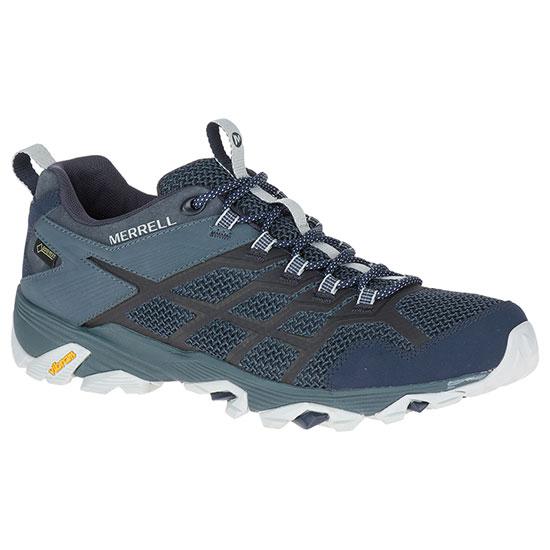 メレル モアブ FST2 ゴアテックス mmoabfstgtx メンズ/男性用 靴 MOAB FST 2 GORE-TEX 77453ネイビー/スレート