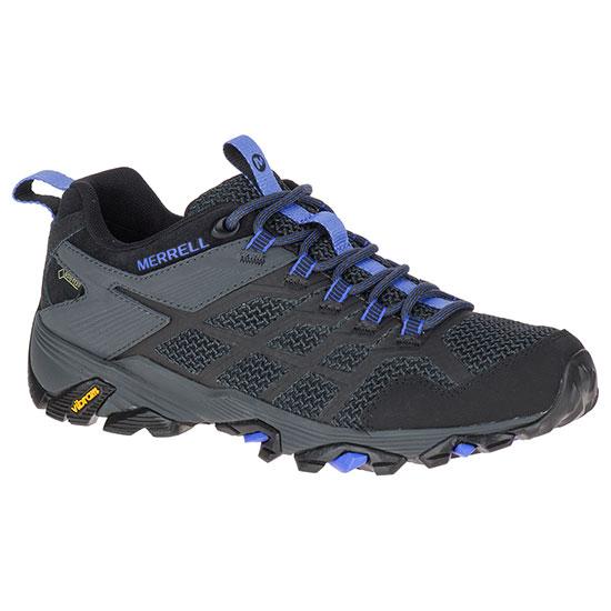 メレル モアブ FST2 ゴアテックス wmoabfstmidgtx レディース/女性用 靴 MOAB FST 2 GORE-TEX 77426ブラック/グラナイト