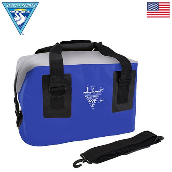 シアトルスポーツ ZIPトップクーラー44QT 12570071 ソフトクーラー 44L ブルー レッド