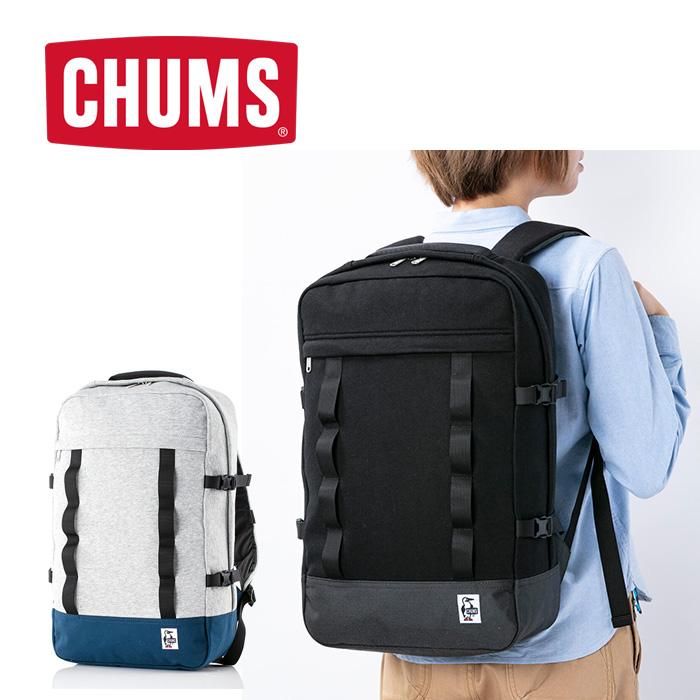チャムス スクエアデイパックスウェットナイロン CH60-2810 バッグ Square Day Pack Sweat Nylon 2019年秋冬新作