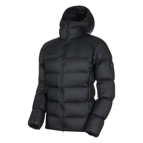 マムート メロンインフーデッドジャケットメンズ 1013-00740 メンズ/男性用 ダウン Meron IN Hooded Jacket AF Men 0052 black-black※半期に一度のクリアランス