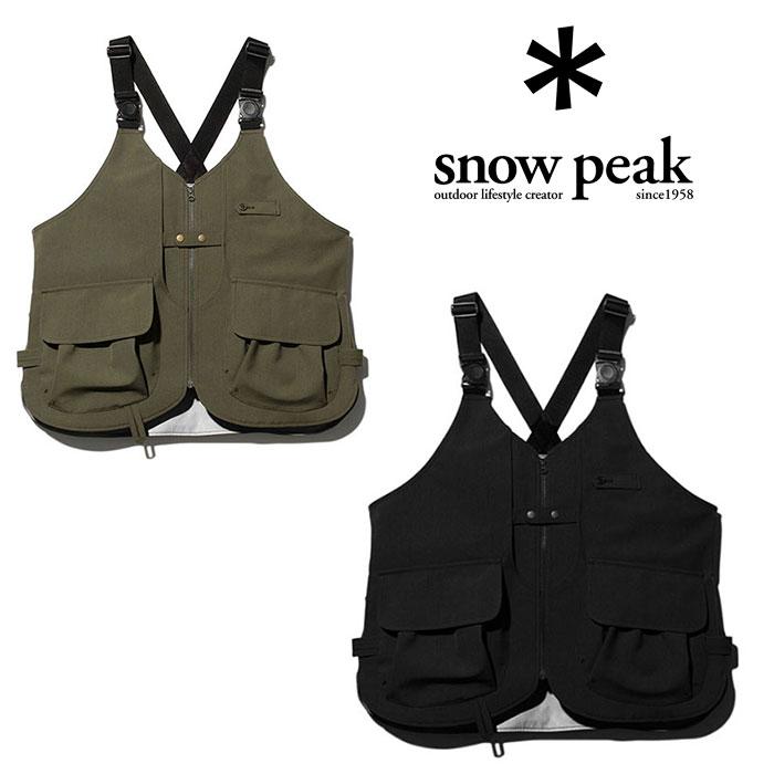 スノーピーク タキビベスト JK-19AU108 メンズ/男性用 ベスト TAKIBI Vest 2019年秋冬新作