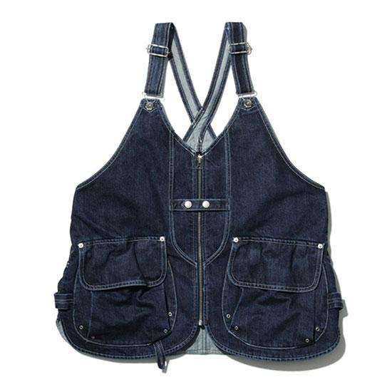 スノーピーク インディゴタキビベスト JK-19AU111 メンズ/男性用 ベスト Indigo TAKIBI Vest