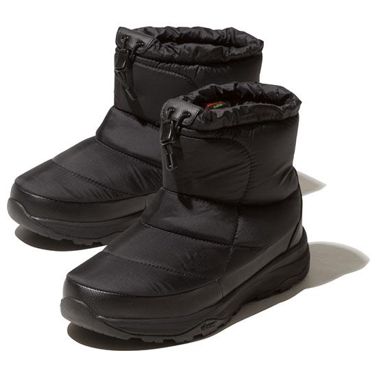 ノースフェイス ヌプシブーティーウォータープルーフ VIショート NF51874 ユニセックス/男女兼用 靴 Nuptse Bootie WP VI Short Kブラック ※半期に一度のクリアランス