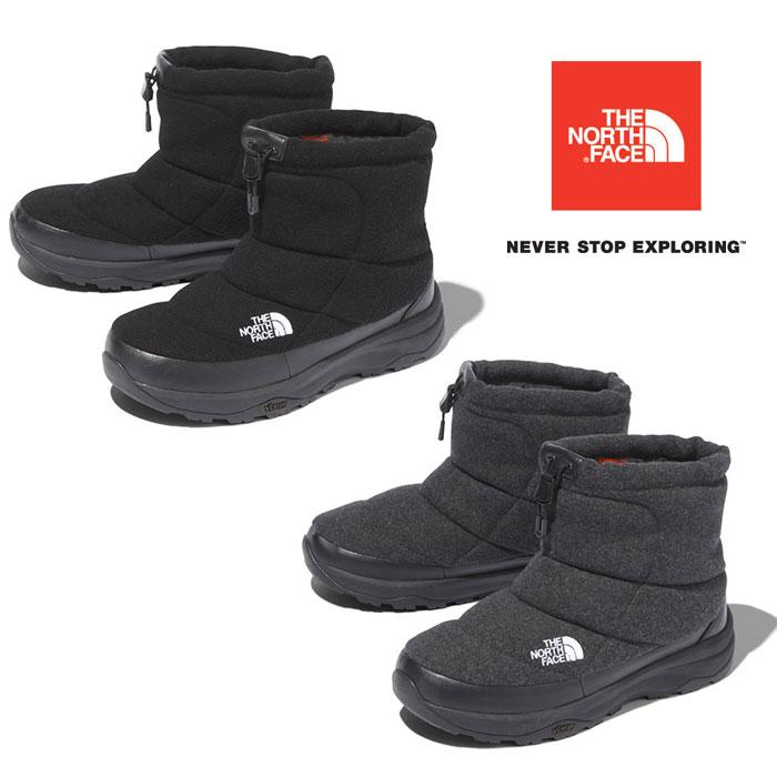 ノースフェイス ヌプシブーティーウールVショート NF51979 ユニセックス/男女兼用 靴 Nuptse Bootie Wool V Short ※半期に一度のクリアランス