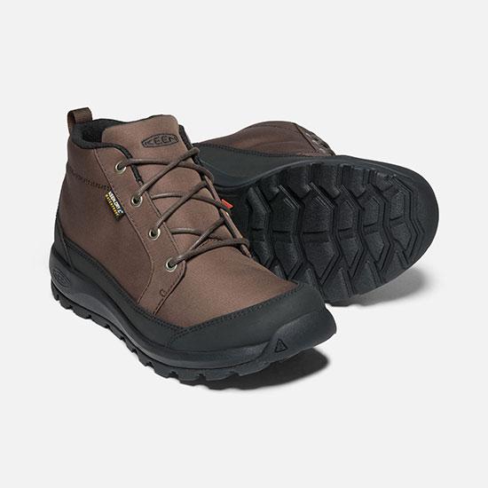 キーン グリーザー チャッカ ナイロン KEENMglieserchu メンズ/男性用 1021569 Demitasse/Black 靴 GLIESER CHUKKA
