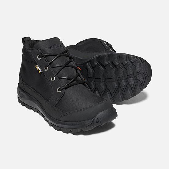 キーン グリーザー チャッカ ナイロン KEENMglieserchu メンズ/男性用 1021568 Black/Black 靴 GLIESER CHUKKA