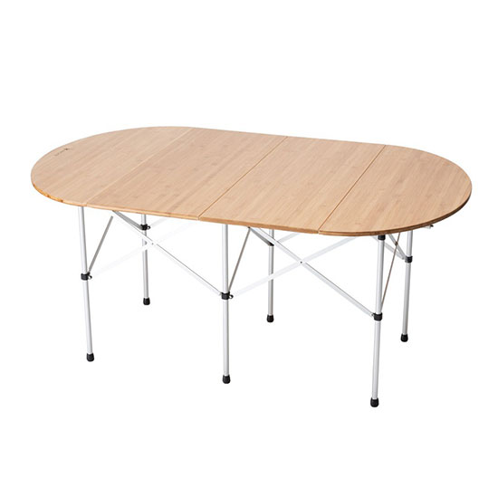 スノーピーク フォールディングテーブルオーバル竹 LV-231 テーブル 2020年新商品