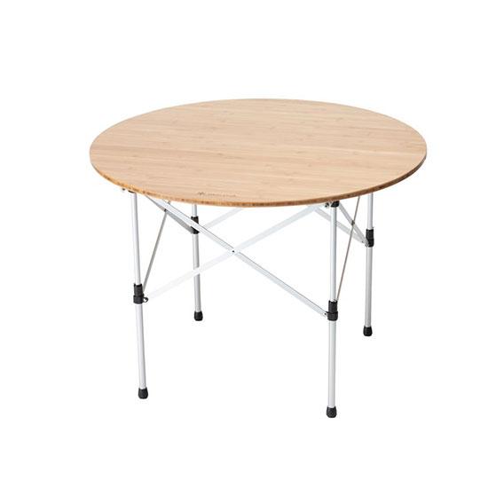 スノーピーク ローテーブルラウンド竹 LV-242 テーブル 2020年新商品
