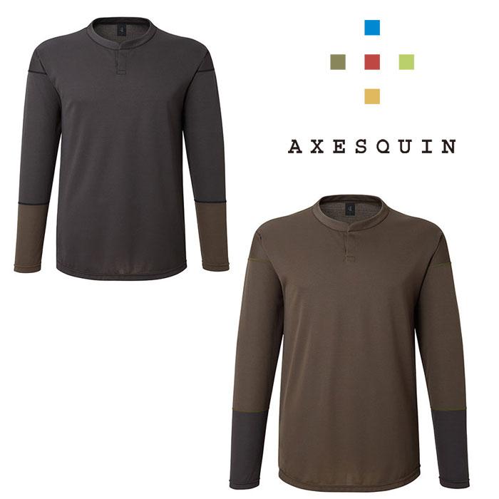 アクシーズクイン ハチジュウハチヤ 長袖 AXESAS1754 メンズ/男性用 レディース/女性用 Tシャツ 2020年春夏新作