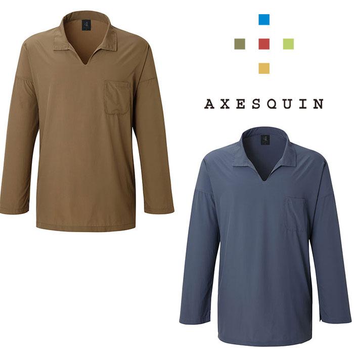 アクシーズクイン ミチクサ AXESAS1845 メンズ/男性用 シャツ 2020年春夏新作