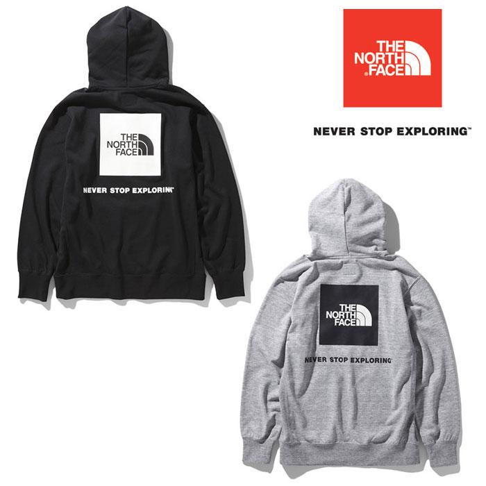 ノースフェイス バックスクエアロゴフーディ NT12034 メンズ/男性用 パーカー Back Square Logo Hoodie 2020年春夏新作