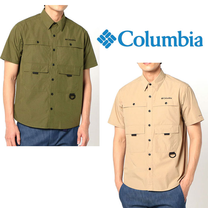 コロンビア ヒューソンパーク ショートスリーブシャツ PM6518 メンズ/男性用 シャツ Hewson Park Short Sleeve Shirt 2020年春夏新作
