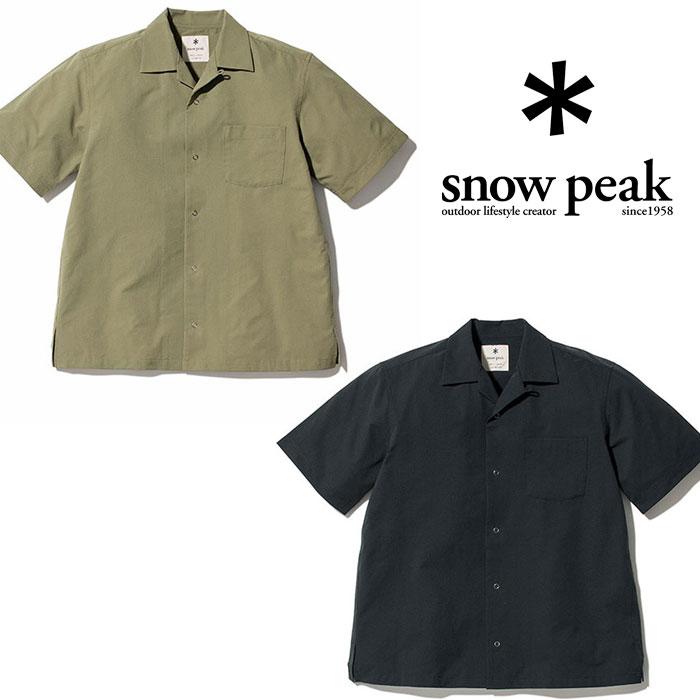 スノーピーク クイックドライアロハシャツ SH-20SU104 シャツ Quick Dry Aloha Shirt 2020年春夏新作