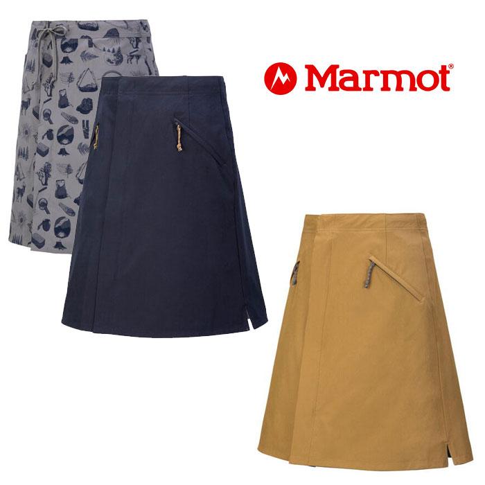マーモット ウィメンズリバーシブルスカート TOWPJE93YY レディース/女性用 スカート W's Reversible Skirt 2020年春夏新作