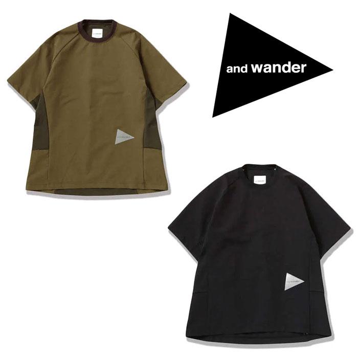 アンドワンダー ハイブリッドベースレイヤーショートスリーブT AW01-FT145 レディース/女性用 hybrid base layer short sleeve T Tシャツ 2020年春夏新作