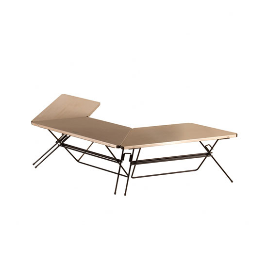 ハングアウト FRTアーチテーブル(ステンレストップ) FRT-7030ST テーブル FRT Arch Table(Stainless Top) 2020年新商品
