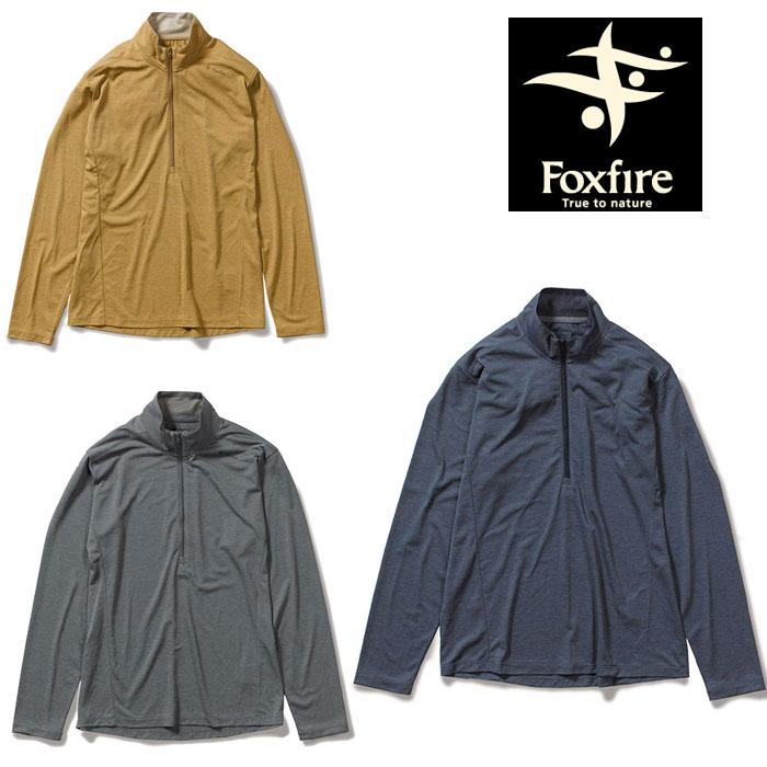 フォックスファイヤー SCファインタッチハーフジップ FXF5215015 メンズ/男性用 Tシャツ SC Fine Touch Half Zip 2020年春夏新作
