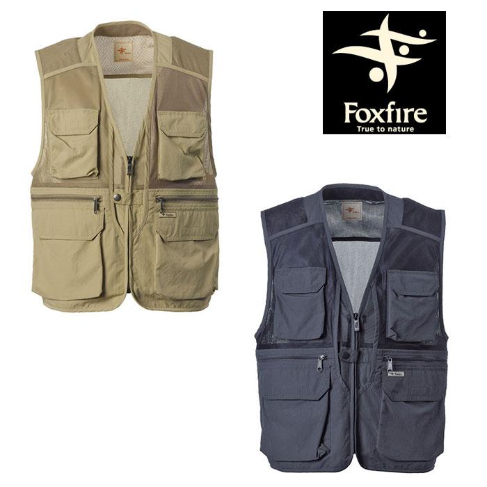 フォックスファイヤー DEOメッシュベスト FXF5610732 メンズ/男性用 ベスト Deo Mesh Vest 2020年春夏新作
