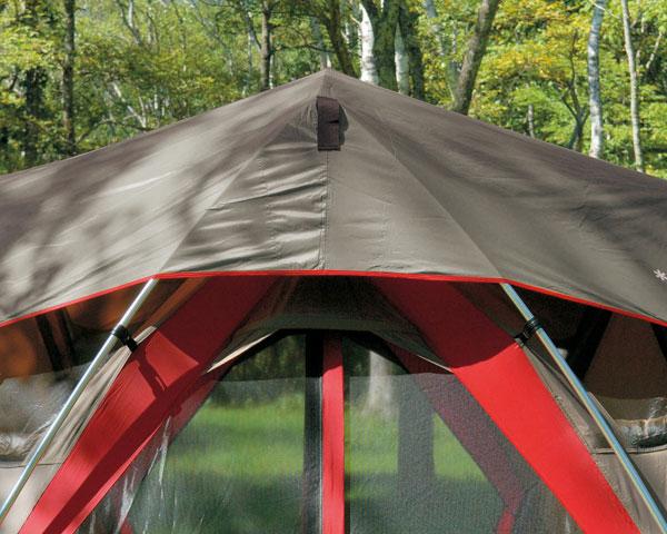 スノーピーク TP-612SR-GY(グレー)シールドルーフ(リビングシェル用) リビングシェルの屋根に被せるシート リビングシェルシールドルーフ 遮光 ランドブリーズリビングシェル