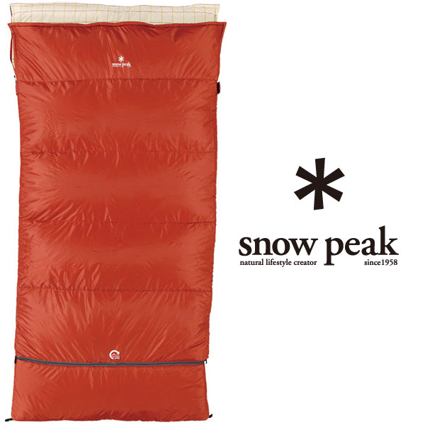 snow peak 封筒型シュラフ スノーピーク セパレートシュラフ オフトンワイド LX BD-104