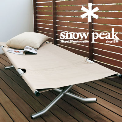 スノーピーク コット BD-030 コットハイテンション スリーピングコット ベンチ テント用ベッド キャンプ用コット 折りたたみ式ベッド アウトドア寝具