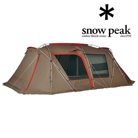 スノーピーク TP-671R ランドロック 大型ドームテント ファミリーテント 大人2人子供3人がゆったり寝られる リッジポール 2017年リニューアル