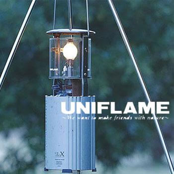 ユニフレーム UNIFRAME ランタン 620106(クリア)フォールディングガスランタン(UL-X) クリアホヤ標準仕様 フォールディングランタン ケース一体型 スライド式