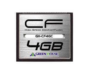 グリーンハウス 133倍速コンパクトフラッシュ 4GB GH-CF4GC