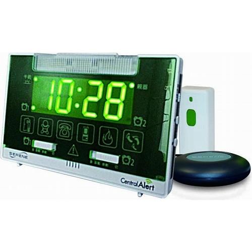 【沖縄・離島配送不可】自立コム セントラルアラート 無線式呼出し装置 製品型番:CA-360J