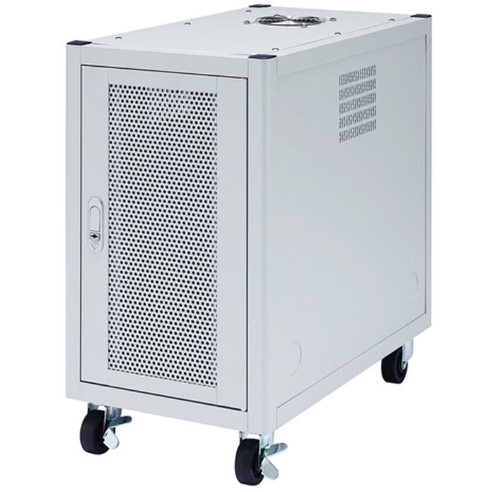 【代引不可】LANハブやルータを縦置きに設置 スペースを有効活用 縦収納19インチマウントハブボックス(4U) サンワサプライ CP-TH4UN