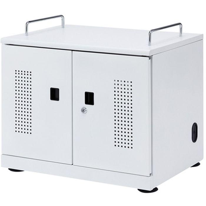 タブレット一括収納 タブレット収納キャビネット(20台収納) サンワサプライ CAI-CAB103W