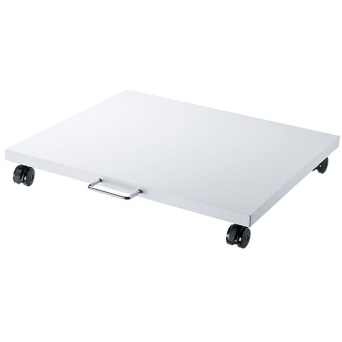 レーザープリンタをデスクの下などへ設置可能 プリンタスタンド(W500×D545×H78mm) サンワサプライ LPS-T100N