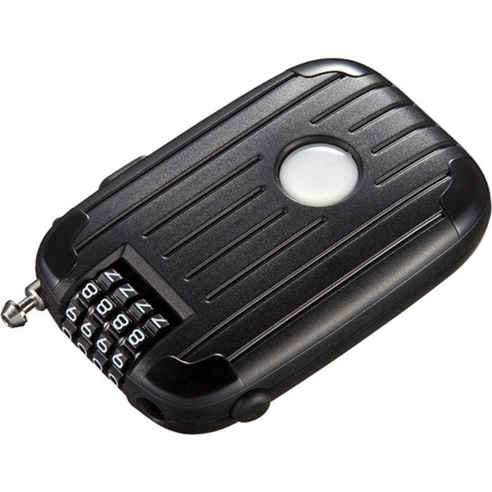 送料無料 メール便出荷 巻き取りケーブルタイプのダイヤル錠 売店 ワイヤー1.8mロングタイプ サンワサプライ SLE-11LN ワイヤーリール式ダイヤル錠 全国どこでも送料無料 eセキュリティ