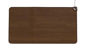 ホットテーブルマット 大 60x110cm(ダークブラウン)電気マット ホットマット 電気足元マット 暖かい 椙山紡織 SB-TM110-D