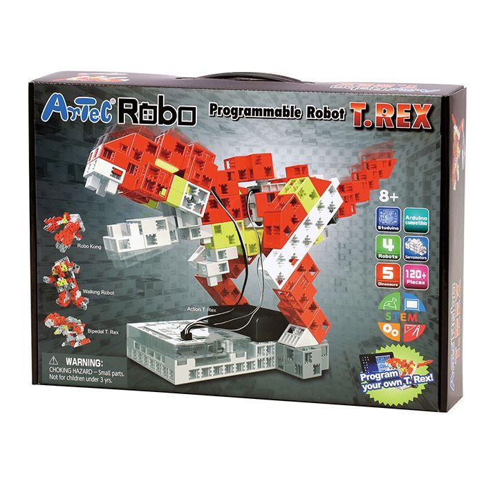 【沖縄・離島配送不可】Artecブロック アーテックロボ T.REX 恐竜 ブロック ロボット プログラミング 授業 教材 玩具 おもちゃ 学習 知育  アーテック 197871