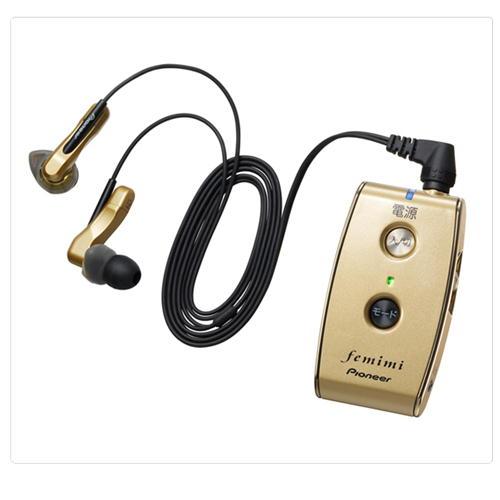 パイオニア パイオニア フェミミ 集音器 VMR-M800 ゴールド 製品型番:TPVMR-M800-N