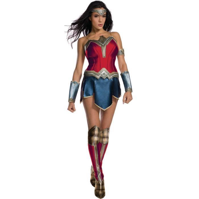 【あす楽】Ad Dx Wonder Woman S ワンダーウーマン レディースサイズ コスチューム コスプレ 6点セット 衣装 仮装 変装 RUBIES JAPAN 820669S