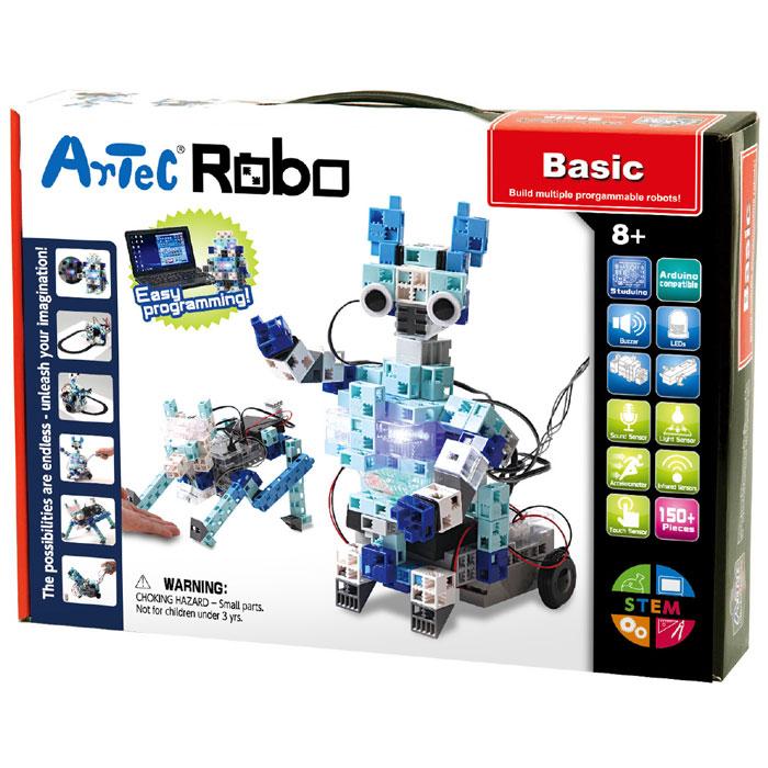 【沖縄・離島配送不可】Artecブロック アーテックロボ ベーシック ブロック ロボット 簡単組立 プログラミング 操作 遊ぶ 学ぶ 教育 発展学習 アーテック 153142