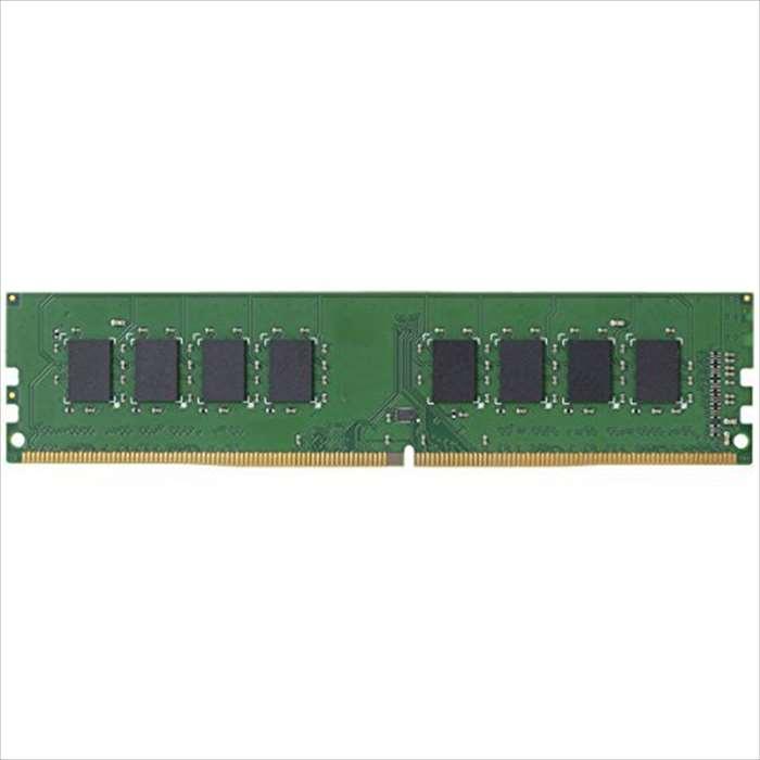 【沖縄・離島配送不可】EU RoHS指令準拠 DDR4メモリモジュール DDR4-2400 8GB デスクトップ用 エレコム EW2400-8G/RO
