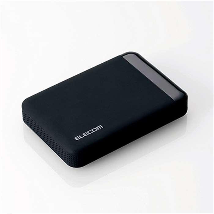 【沖縄・離島配送不可】【代引不可】セキュリティ対策用 ポータブルハードディスク 2TB HDD USB3.0 パスワードロック機能 ウイルス対策機能 エレコム ELP-S020T3