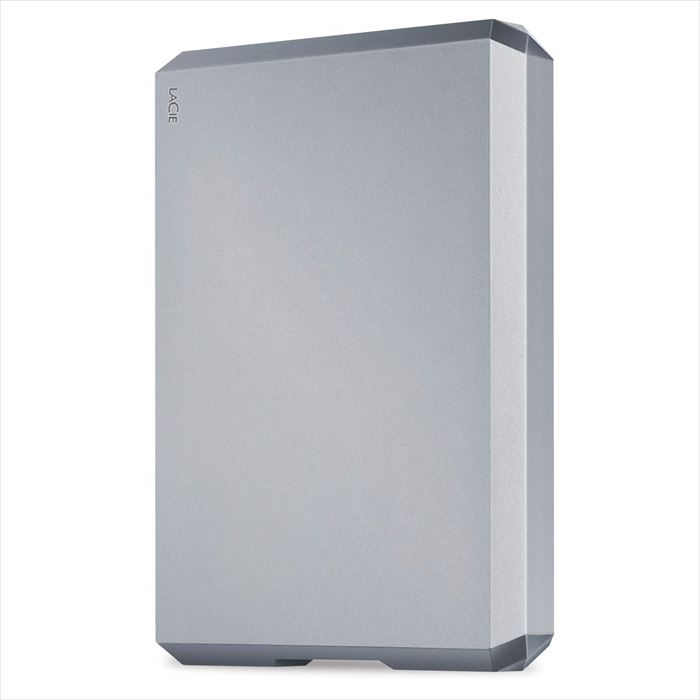 【沖縄・離島配送不可】LaCie HDD ポータブルハードディスク 4TB Mobile Drive SpaceGray USB Type-C Toolkit付属 エレコム STHG4000402