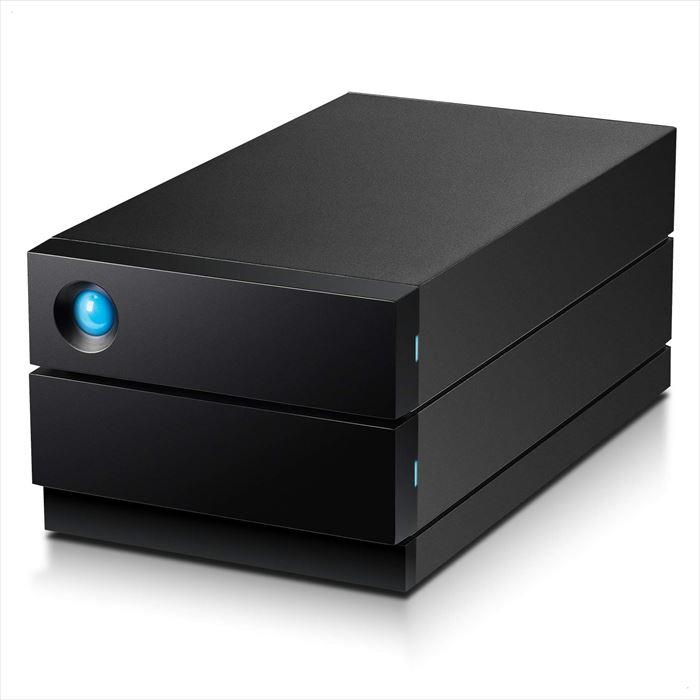 【沖縄・離島配送不可】【代引不可】LaCie HDD 外付けハードディスク 8TB 2big RAID USB Type-C 超高速転送 映像データ エレコム STHJ8000800
