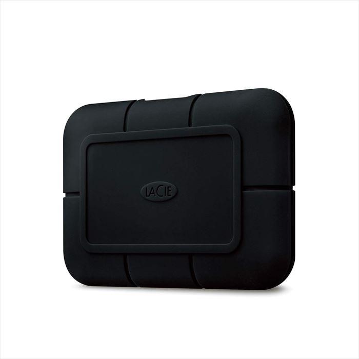 【沖縄・離島配送不可】【代引不可】LaCie ポータブルSSD 1TB Rugged SSD Pro USB Type-C 防水 防塵 耐衝撃 高速データ転送 ゴムバンパー エレコム STHZ1000800
