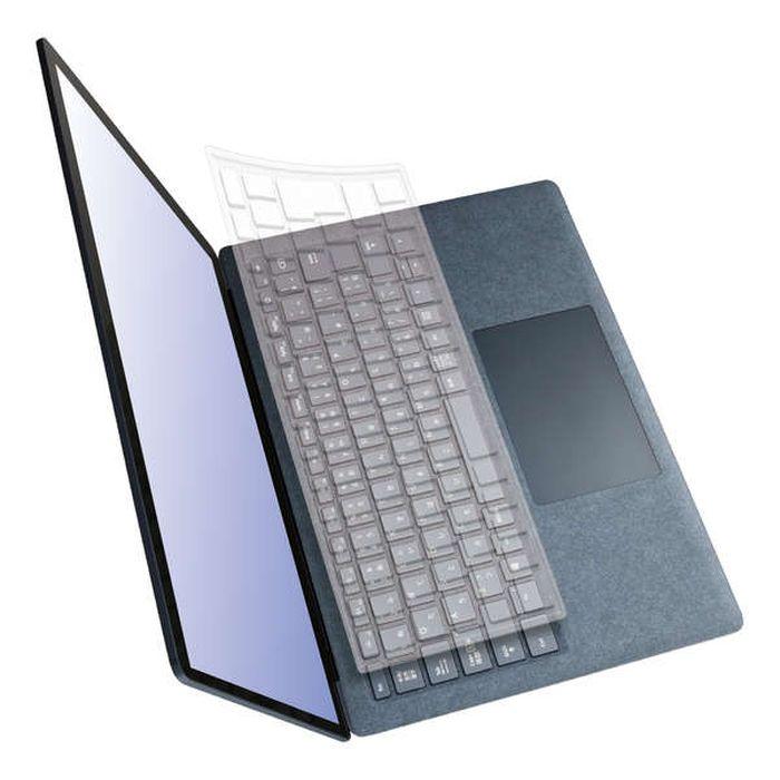 送料無料 沖縄 離島除く 宅配便出荷 直営限定アウトレット Microsoft 超特価 Surface Laptop 3 エレコム キーボードカバー PKB-MSL3 13.5インチ 抗菌加工 専用 15インチ