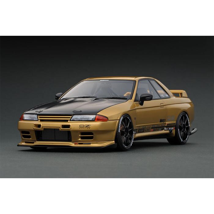 1/18 TOP SECRET GT-R (VR32) Gold ゴールド 日産 ニッサン スカイライン SKYLINE ignition model IG1523